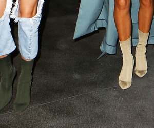 boots, fashion, and kanye west image