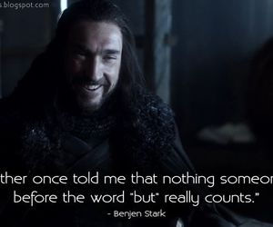 quotes, game of thrones, and benjen stark image