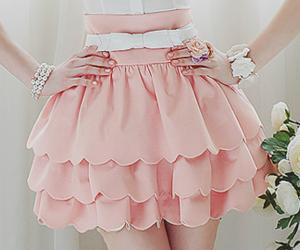 pink, skirt, and dress image