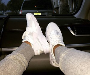 white, shoes, and nike image