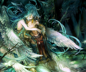 anime, angel, and boy image