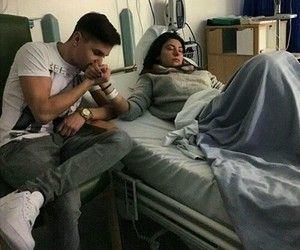 couple, goals, and hospital image
