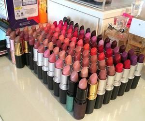 lipstick, makeup, and mac image