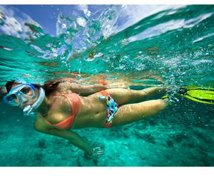 healthy, snorkel, and sport image