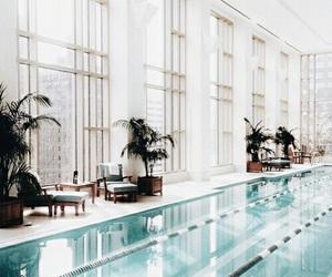 pool, luxury, and hotel image