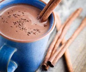 chocolate, hot chocolate, and Cinnamon image