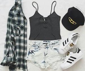 adidas, batman, and clothes image