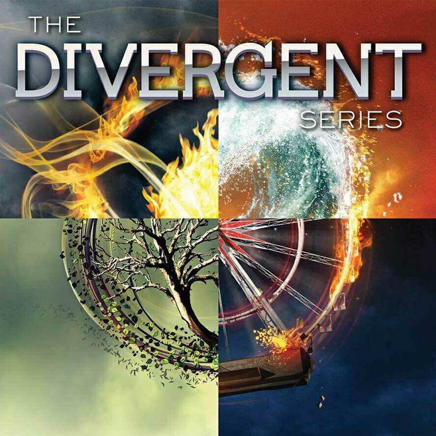 divergent, four, and insurgent image
