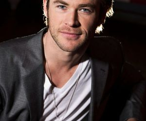 handsome, thor, and chris hemsworth image