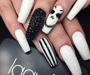 Halloween, girl, and cosmetics image