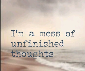 feelings, quotes, and thoughts image