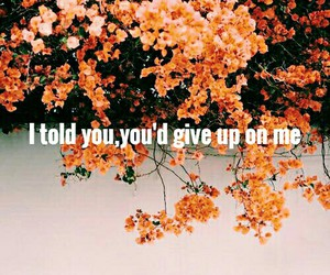 give up, miss you, and quotes image