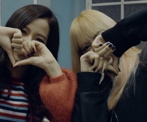 blackpink, jisoo, and lisa image