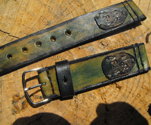 watch band, leather watch strap, and 22mm watch strap image
