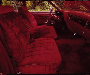 red, car, and velvet image