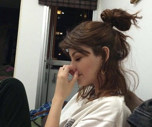 girl, model, and grunge image