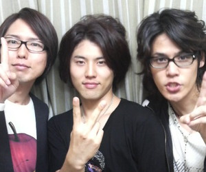 :3, <3, and mamoru miyano image