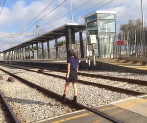 asian, tumblr, and train image
