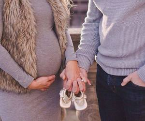baby, pregnancy, and pregnant image