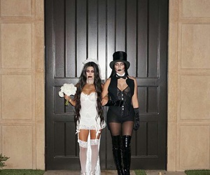 Halloween and kourtney kardashian image Halloween image & Best Friends Halloween Costumes?? on We Heart It