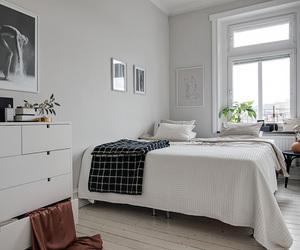 bedding, minimalist, and bedroom image