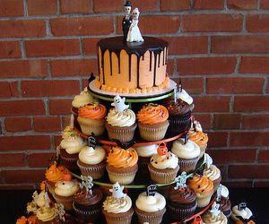 cake, pumpkin, and love image