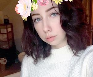 fall, hair, and short hair image