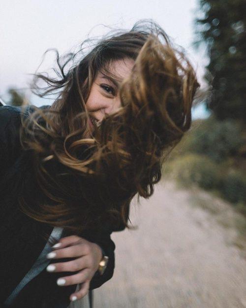 girl, smile, and photography image