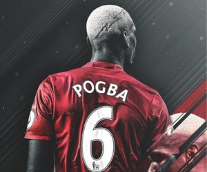 manchester united, wallpaper, and pogba image