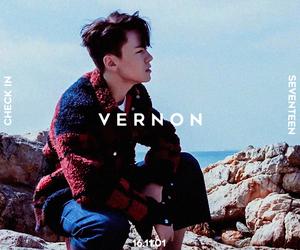 vernon, Seventeen, and kpop image
