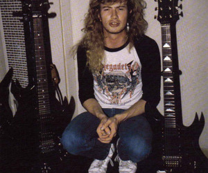 80's, shirt, and dave mustaine image