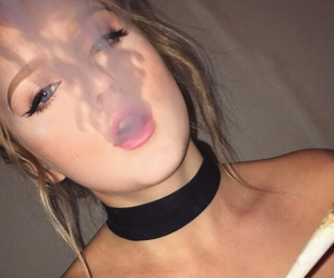 blondie, girl, and high image