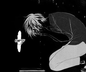 bl, manga, and monochrome image