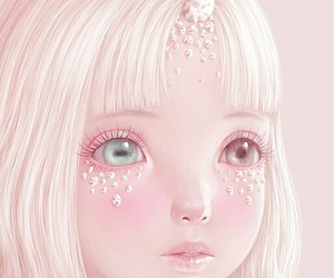 unicorn, pink, and saccstry image