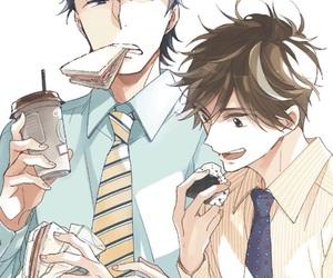 bl, shonen ai, and manga yaoi image