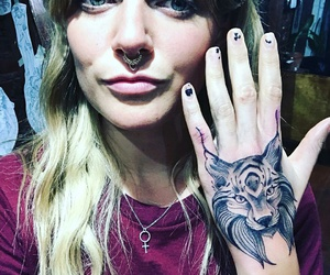 cool girl, influence, and tattoo image