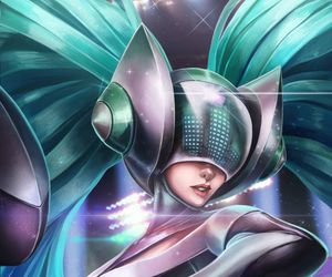 sona, league of legends, and lol image
