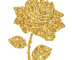 gold, rose, and glitter image