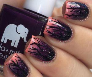 Halloween and nail art image
