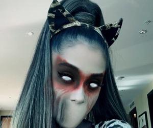 ariana grande, Halloween, and moonlightbae image