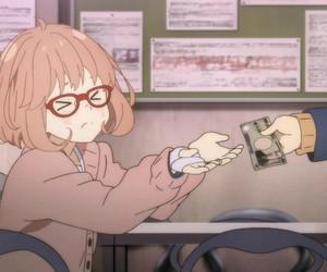 anime, kyoukai no kanata, and kawaii image