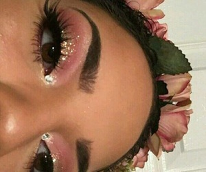 beauty, pink, and baddie image