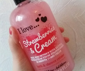 cosmetics, luxury, and strawberry image