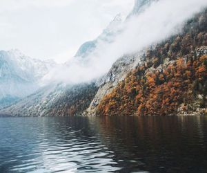 mountains, landscape, and nature image