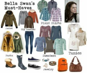bella, bella swan, and outfits image