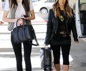 kendall jenner and kim kardashian image