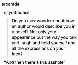 asshole, author, and books image