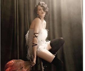 beautiful, model, and woman image