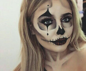 Halloween, makeup, and make up image