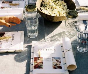 food and magazine image